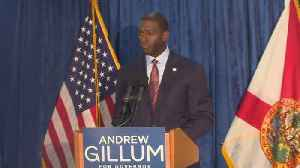 News video: WEB EXTRA: Andrew Gillum Withdraws His Concession In Florida's Governor Race As Contest Heads To Recount