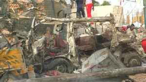 News video: Death toll rises in Somali hotel bombing
