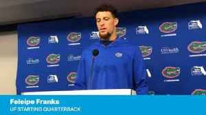 News video: Feleipe Franks on hushing the crowd at the Swamp