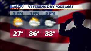 Bundle up for Veterans Day [Video]