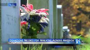 Donations needed for the 6th annual Wreaths Across American [Video]
