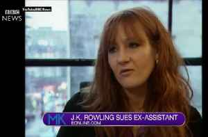 -K Rowling is suing her ex-assistant for stealing cash and