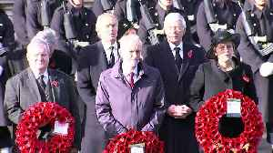 War dead remembered at Cenotaph centenary ceremony [Video]