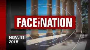 Open: This is Face the Nation, November 11th [Video]