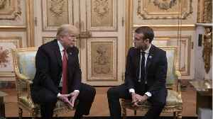 Macron Says He Doesn't Conduct 'Diplomacy Through Tweets' [Video]