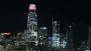 Salesforce Tower Embraces Halloween [Video]