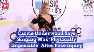 Carrie Underwood Opened Up About Serious Injury [Video]