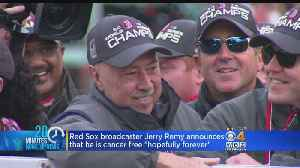 Jerry Remy Says Tests Show He's 'Cancer Free For Now And Hopefully Forever' [Video]