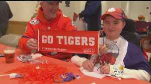 Young Clemson Fan With Muscular Dystrophy Enjoys Game Again BC [Video]