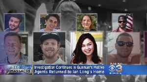 Agents Return To Gunman Ian Long's Home To Investigate [Video]