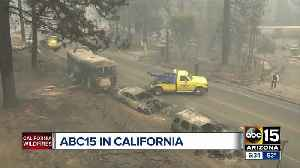 ABC15 covering California wild fires [Video]