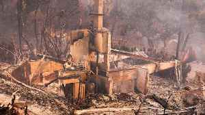Firefighters Assess Damage From California Wildfires [Video]