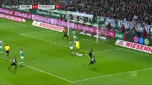 Plea hat-trick gives Moenchengladbach big win at Werder Bremen [Video]
