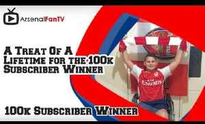 A Treat Of A Lifetime for the 100k Subscriber Winner [Video]