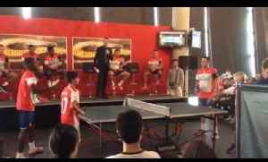Joel Campbell vs David Ospina At Table Tennis [Video]