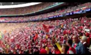 FA Cup: Arsenal v Hull Inside Wembley Stadium [Video]