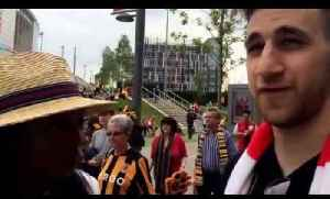 Wembley FA Cup Final Fans Talk to Philippa [Video]