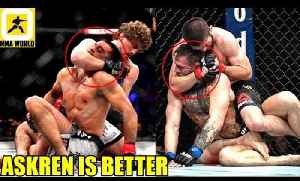 Ben Askren is far better grappler than UFC Champ Khabib Nurmagomedov,DC on Cain,Weidman [Video]