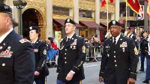 New York City marks Veterans Day with annual parade [Video]