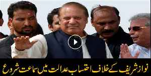 Nawaz Sharif appears before accountability court [Video]