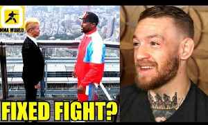 Who knows if The Floyd Mayweather vs Tenshin Nasukawa will be real Bout,Conor McGregor on Mayweather [Video]