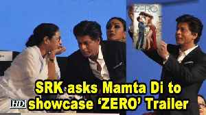 SRK playfully asks Mamta Di to showcase 'ZERO' Trailer at KIFF [Video]