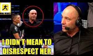 This is how Joe Rogan avoided getting called out inside the Octagon at UFC 230,125 Shutting down [Video]
