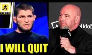 Khabib is going to give up his whole fighting career and just Quit if teammate is cut,Perry [Video]