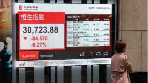 Asian Stocks Slip On Chinese Anxiety [Video]