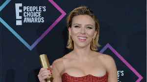 Scarlett Johansson Wins Big At People's Choice Awards [Video]
