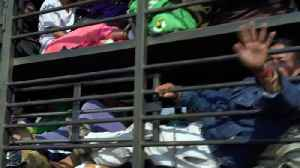 Thousands of migrants hitch a ride to the US border [Video]