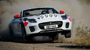 AutoComplete: Jaguar made a rally-spec F-Type that you can't buy [Video]