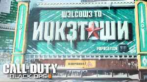 Call of Duty: Black Ops 4 — Official Nuketown Gameplay Trailer [Video]