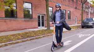 Ford Spin Scooter Demo [Video]