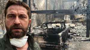 Miley Cyrus, Gerard Butler Among Stars to Lose Homes in California Wildfires [Video]
