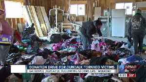 Donation Drive For Dundalk Tornado Victims [Video]