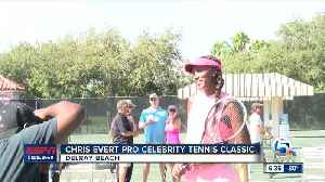29th annual Chris Evert Pro-Celebrity Tennis Classic held in Delray Beach [Video]