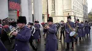 Manchester marks Armistice Day with parade [Video]