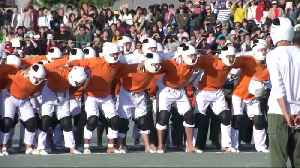 Military cadets take on Japan's most violent sport [Video]