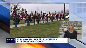 Special service to honor remains of veterans found at Cantrell Funeral Home [Video]