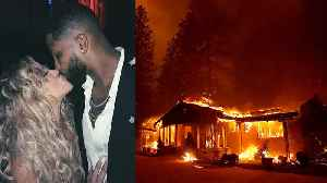 Khloe Kardashian & Tristan Closer Than Ever After Emergency Evacuation From California Fires [Video]