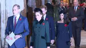 Right Now: Meghan Markle and Prince Harry at Festival of Remembrance [Video]