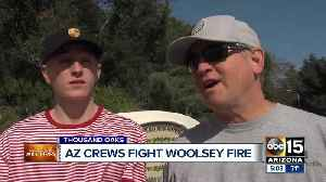Arizona crews helping fight the Woolsey Fire in California [Video]