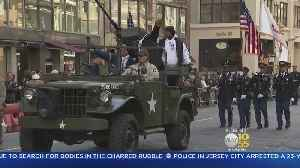 News video: Thousands Line Fifth Ave For Veterans Day Parade