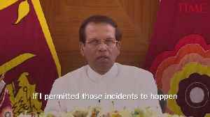 Sri Lanka's President Says He Dissolved Parliament to Avert Violence [Video]