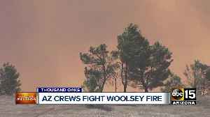 Arizona crews working to contain Woolsey Fire in southern California [Video]