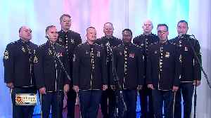 Bay area honored by performance of Army Field Band [Video]