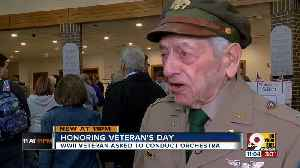 At 96, World War II veteran Charles Carraher wantspeople to remember and say 'thank you' [Video]