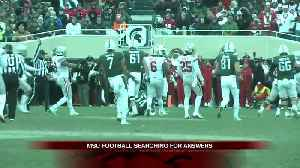News video: Michigan State hurt by mis-cues in loss to Ohio State