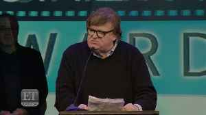Michael Moore Finishes 'Bowling For Columbine' Acceptance Speech [Video]
